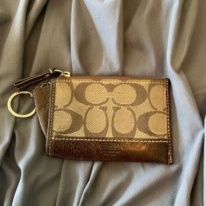 Like new Coach change purse